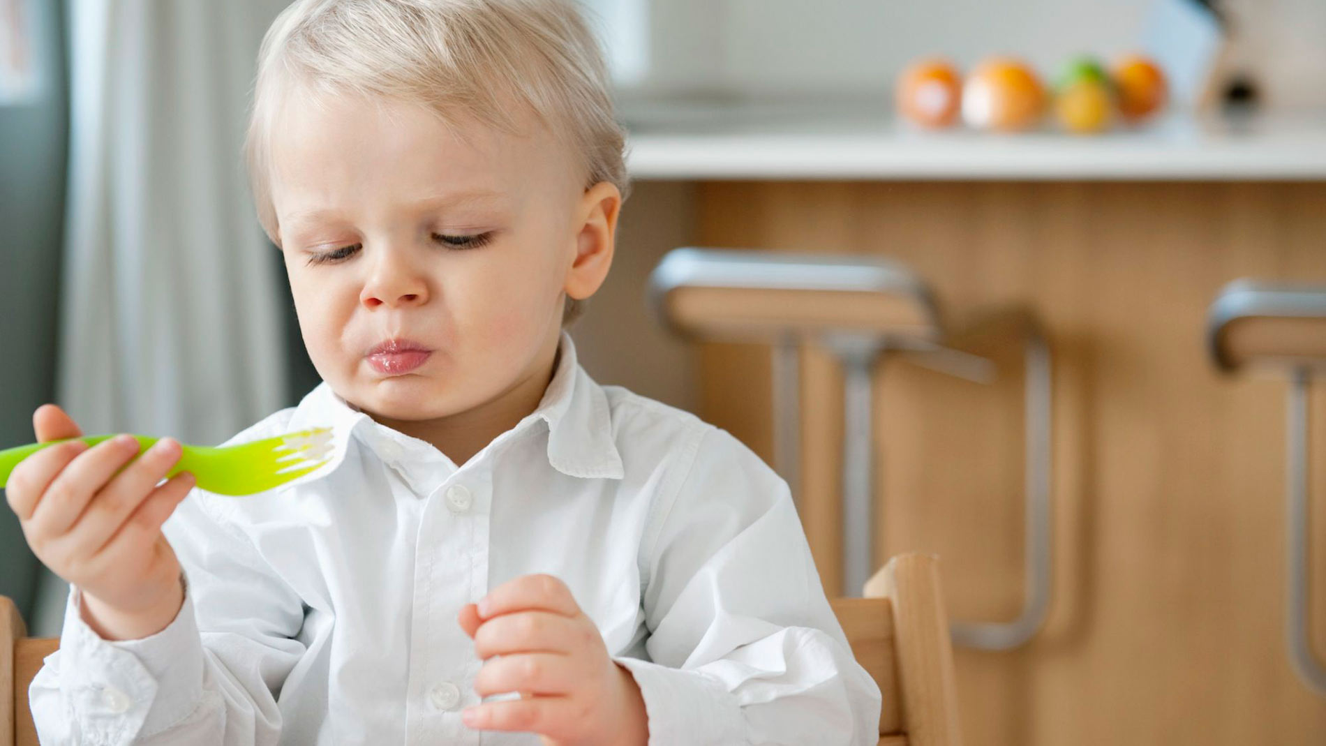دلیل اختلال بلع در کودکان و درمان آن
