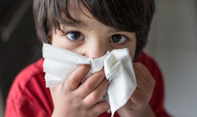 شدت عفونت دستگاه تنفسی درکودکان
