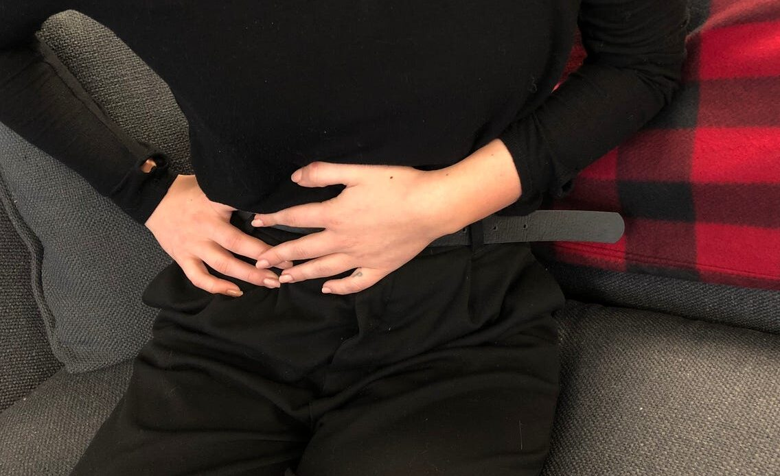 سوء هاضمه و درد پایین شکم