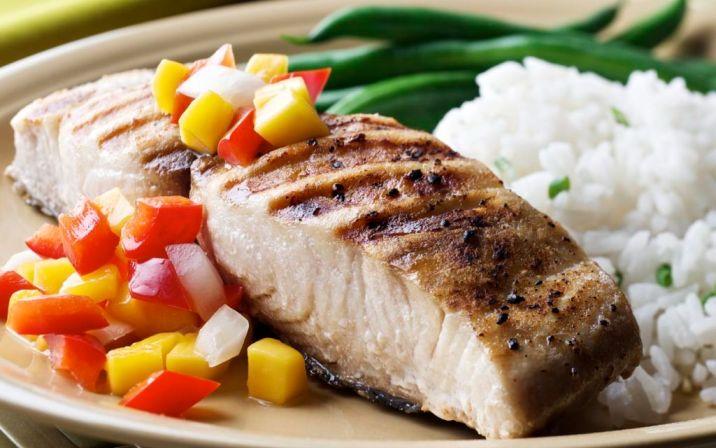 ماهی و تغذیه پیشگیری از سکته مغزی